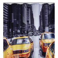 RIDDER Perdea de duș New York, 180 x 200 cm