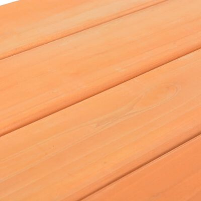 vidaXL Masă cu bănci pentru picnic copii 89x79x50cm lemn masiv brad