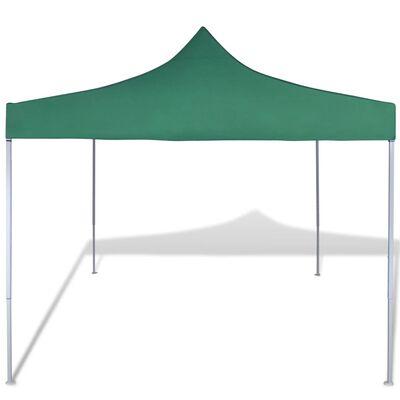 41467 vidaXL Green Foldable Tent 3 x 3 m