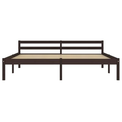 vidaXL Cadru de pat, gri și alb, 100 x 200 cm, metal