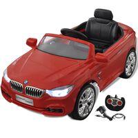 Mașină de jucărie cu baterii și telecomandă BMW Roșu