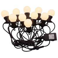 HI Lanț de lumini LED cu 20 de globuri 1250 cm