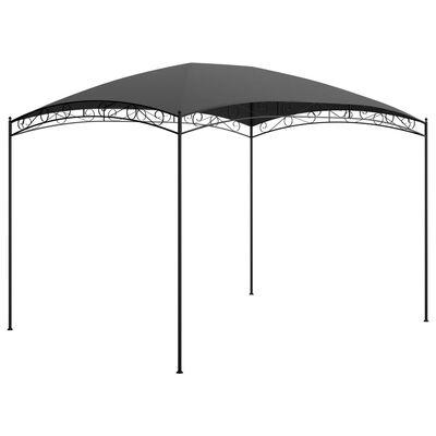vidaXL Pavilion, antracit, 3 x 4 x 2,65 m, 180 g/m²