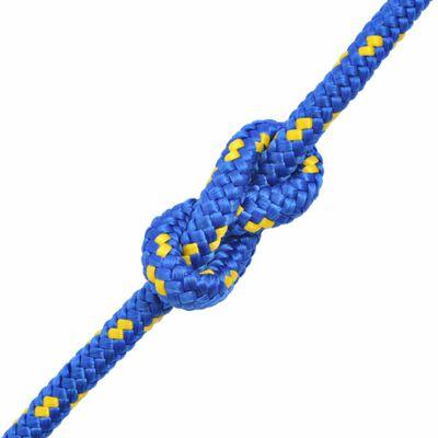 vidaXL Frânghie marinărească din polipropilenă 12 mm 50 m, albastru