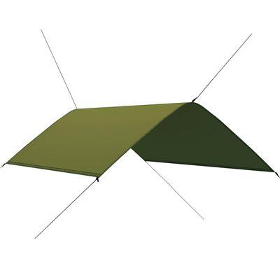 vidaXL Prelată de exterior, verde, 3x2 m