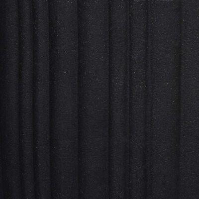 Capi Jardinieră în formă de ou Urban Tube, negru, 54x52 cm, KBLT935