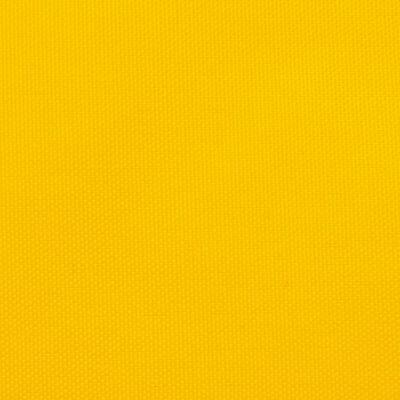 vidaXL Parasolar, galben, 5x5x6 m, țesătură oxford, triunghiular