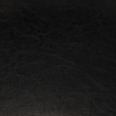 vidaXL Fotoliu, negru, piele ecologică