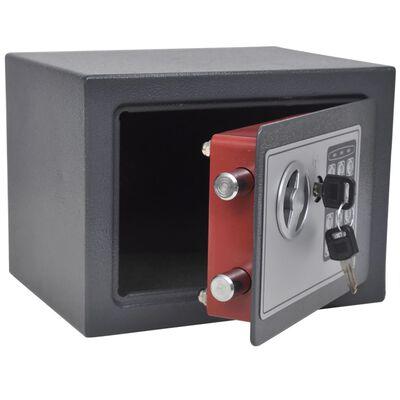 vidaXL Seif electronic digital, 23 x 17 x 17 cm