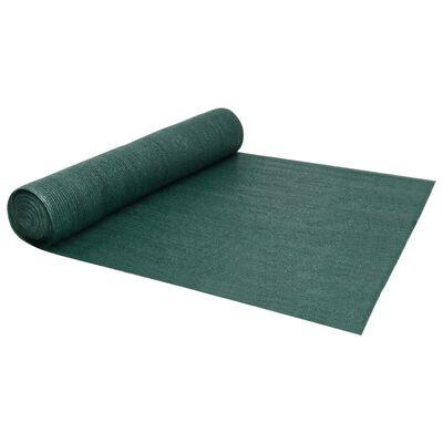 vidaXL Plasă protecție intimitate, verde, 3,6x10 m, HDPE, 195 g/m²