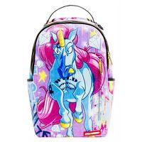 Rucsac Sprayground, Unicorn On The Run, Multicolor + Sticker Cadou