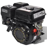 vidaXL Motor pe benzină, negru, 6,5 CP, 4,8 kW