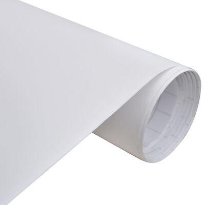 Folie mată impermeabilă pentru mașină, 200 x 152 cm, alb