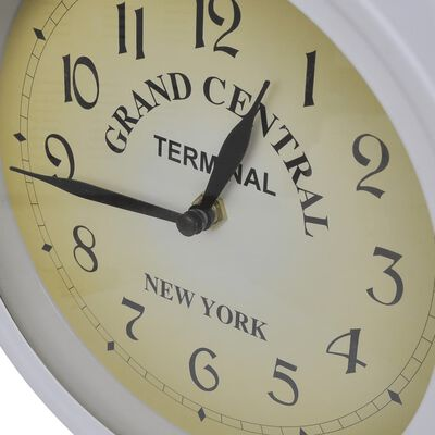 vidaXL Ceas de perete cu două fețe, design clasic