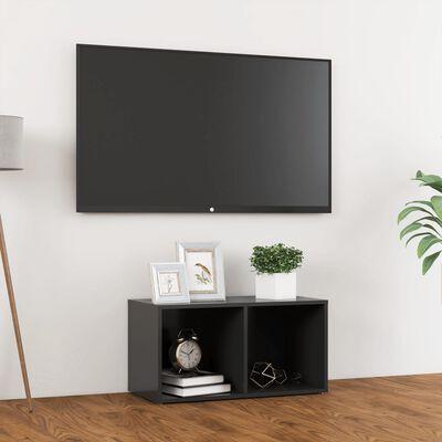 vidaXL Comodă TV, gri, 72x35x36,5 cm, PAL
