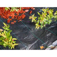 Nature Folie antiburuieni pentru sol, negru, 1 x 50 m