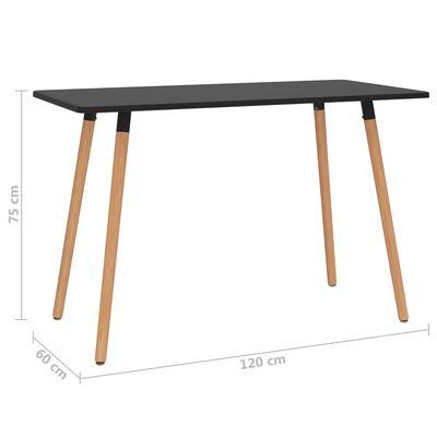 vidaXL Set mobilier de bucătărie, 5 piese, mov închis