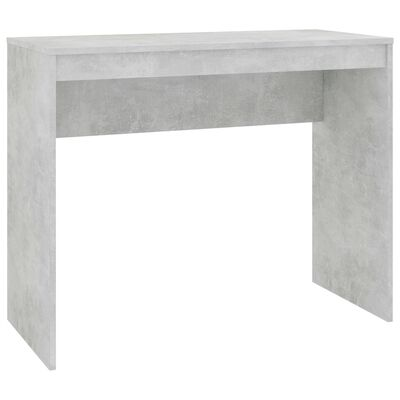 vidaXL Birou, gri beton, 90 x 40 x 72 cm, PAL