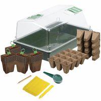 Nature Kit de start plantare cu propagator, 200 piese
