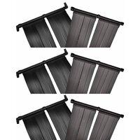 vidaXL Panou încălzitor solar pentru piscină, 6 buc., 80x620 cm