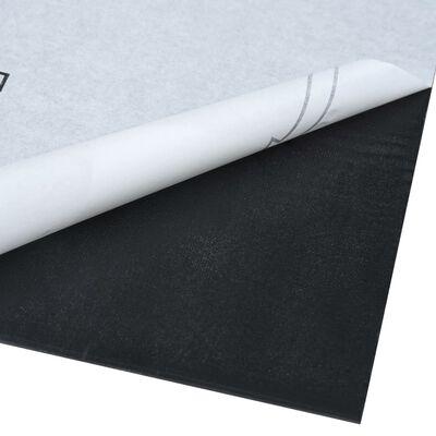vidaXL Plăci pardoseală autoadezive, 55 buc., maro dungi, PVC 5,11 m²