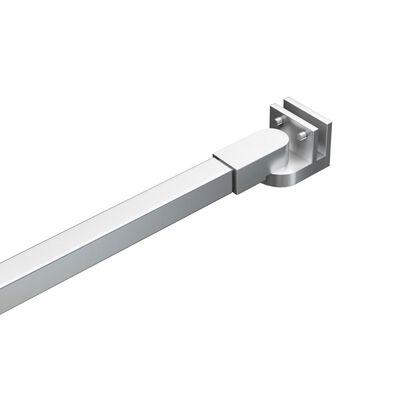 vidaXL Tijă de susținere pentru baie, 47,5 cm, oțel inoxidabil