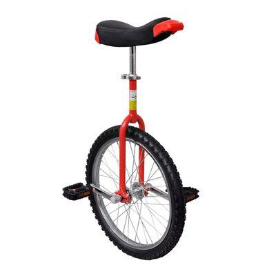 Monociclu roșu reglabil 20 inci