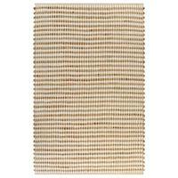 vidaXL Covor din iută lucrat manual, natural & alb, 120x180 cm textil