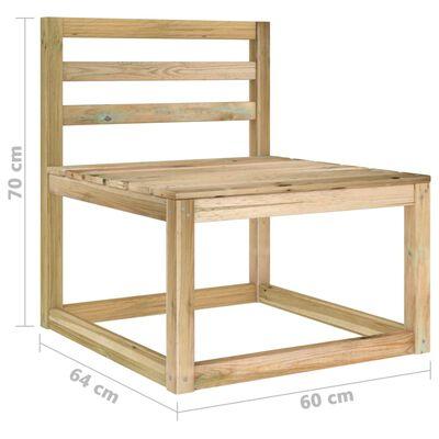 vidaXL Set mobilier de grădină cu perne gri taupe, 6 piese