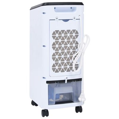vidaXL Răcitor de aer mobil umidificator 2-în-1, 80 W