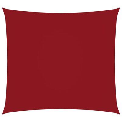 vidaXL Parasolar, roșu, 4,5x4,5 m, țesătură oxford, pătrat