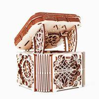 WOODEN CITY Kit machetă de cutie misterioasă, lemn