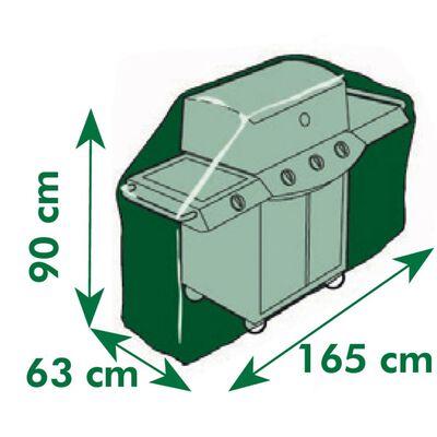 Nature Husă mobilier de grădină pentru grătar pe gaz, 165x90x63 cm ,