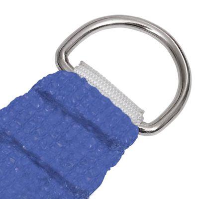 vidaXL Pânză parasolar, albastru, 2,5x3 m, HDPE, 160 g/m²