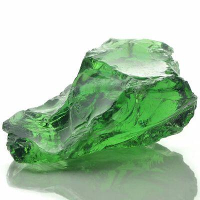 vidaXL Pietre gabion sticlă 60-120 mm 25 kg, Verde