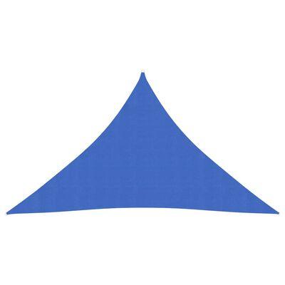 vidaXL Pânză parasolar, albastru, 2,5 x 2,5 x 3,5 m, HDPE, 160 g/m²