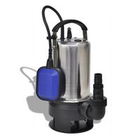 vidaXL Pompă submersibilă pentru apă murdară, 750 W, 12500 L/h,