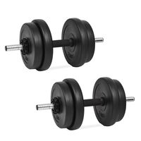 vidaXL Set haltere 14 buc., 20 kg