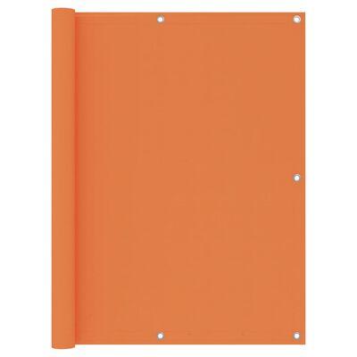vidaXL Paravan de balcon, portocaliu, 120 x 500 cm, țesătură oxford
