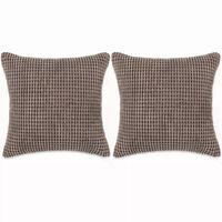 vidaXL Set perne decorative 2 buc. Velur 45 x 45 cm Maro