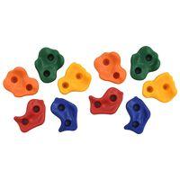 vidaXL Pietre de cățărare 10 buc. PE multicolor
