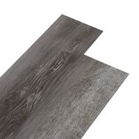 vidaXL Plăci de pardoseală, lemn cu dungi, 4,46 m², PVC, 3 mm