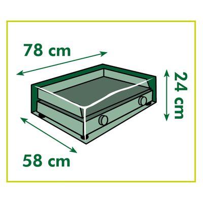 Nature Husă pentru grătar plancha, 78x58x24 cm,