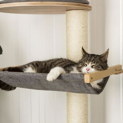 Kerbl Ansamblu pisici de perete Dolomit XL Tofana, gri, 185 cm