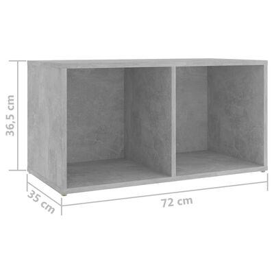 vidaXL Set de dulapuri TV, 6 piese, gri beton, PAL