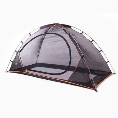 DERYAN Cort pentru pat cu plasă anti-țânțari, negru, 200x90x110 cm
