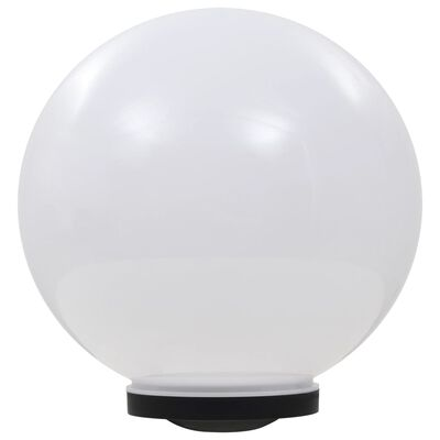 vidaXL Lămpi solare de exterior, 2 buc., 40 cm, RGB, sferic, LED