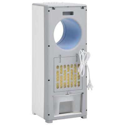 vidaXL Răcitor de aer 3-în-1, alb, 264x255x680 mm, 80 W