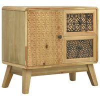 vidaXL Servantă, maro, 60x30x56,5 cm, lemn