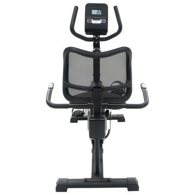 vidaXL Bicicletă de fitness magnetică orizontală cu măsurare puls